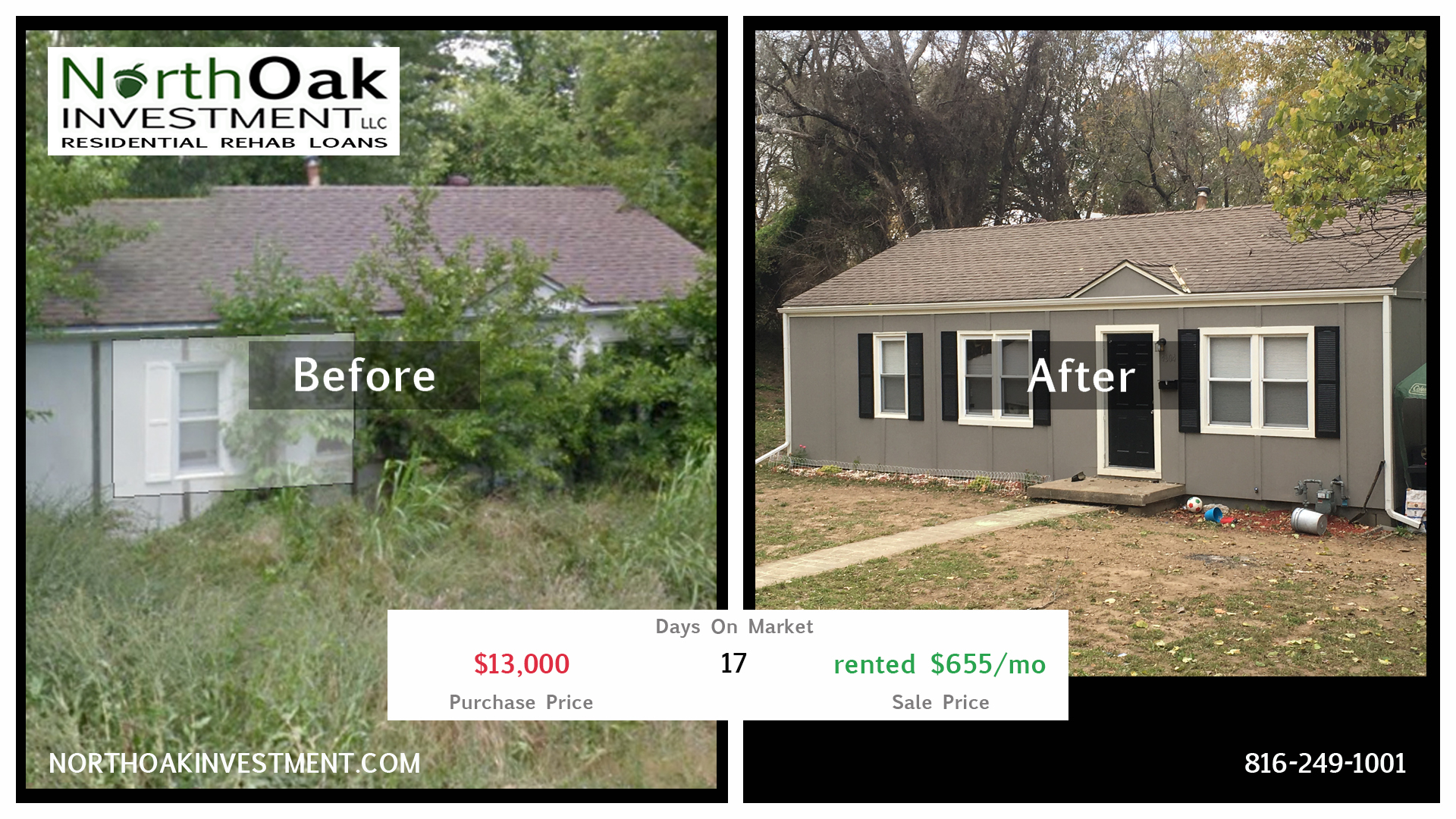 4604 Wood - Report Card - North Oak Investment Rehab Lender Kansas City Flip Funding Construction Lo