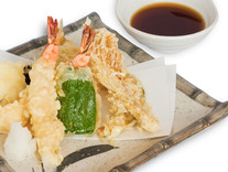 当店自慢揚げたて 天ぷら盛り合わせ/1,100円税込