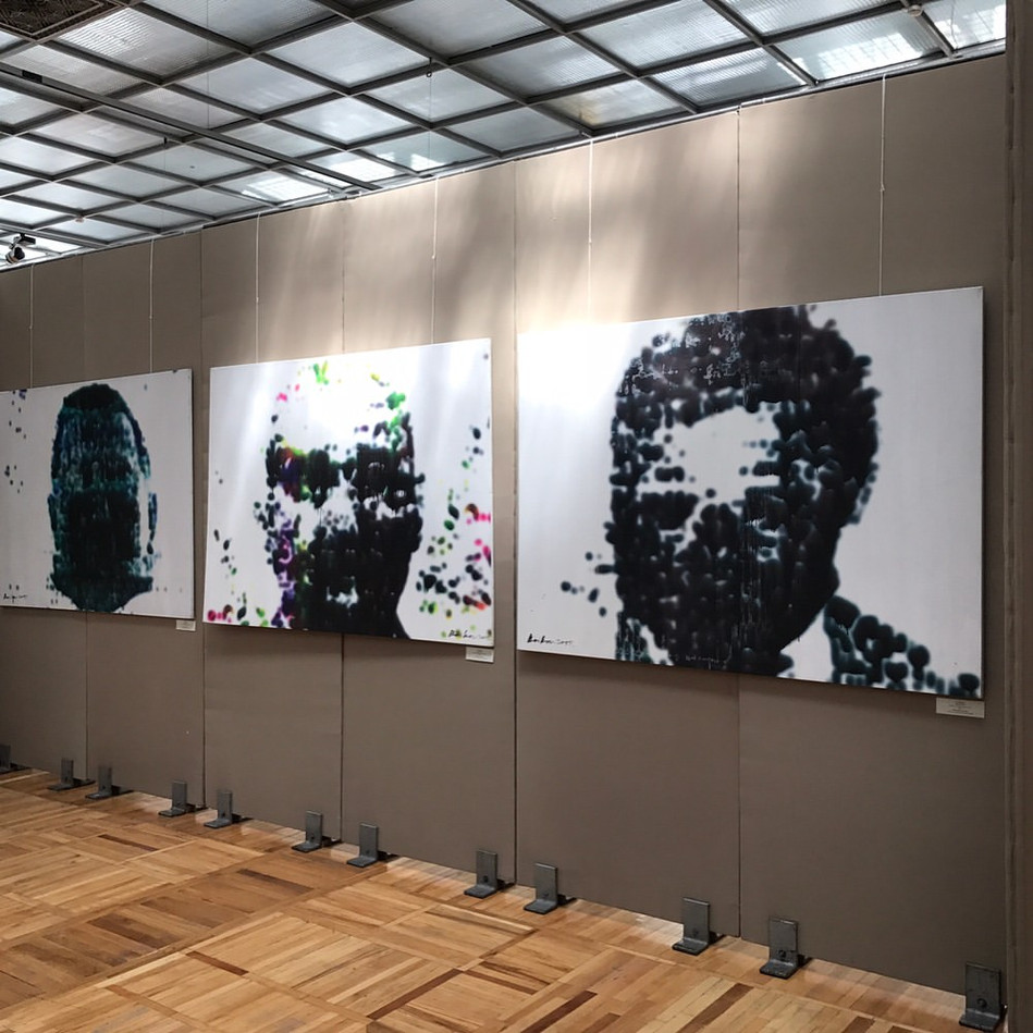 """""""Unknown"""". Exhibition."""