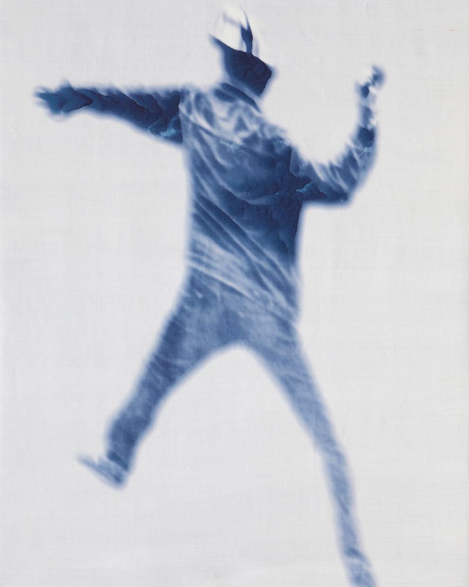 Kinematics of protest / Monochrome. Unknown #1 / 2012