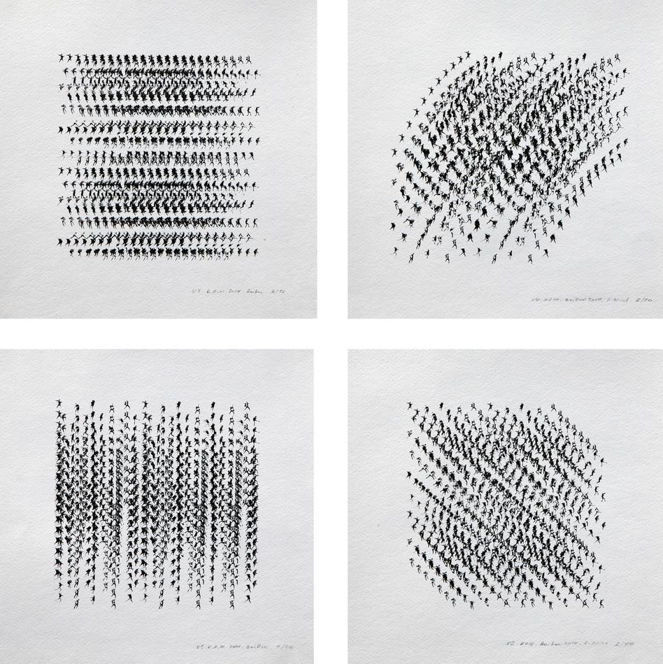 Kinematics of protest / Alphabet. 2014