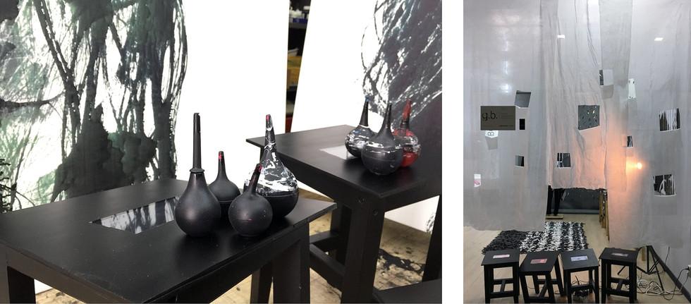 Video-art in the little stool.
