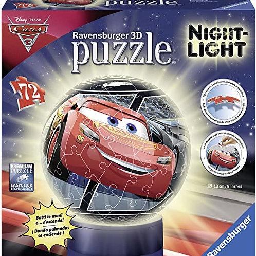 Puzzle Cars Night Light