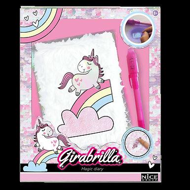 Girabrilla Unicorno Magico Diario