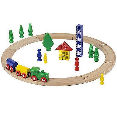 Treno Legno Calamitato