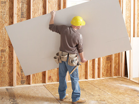 Do you know what type of drywall you should be using?