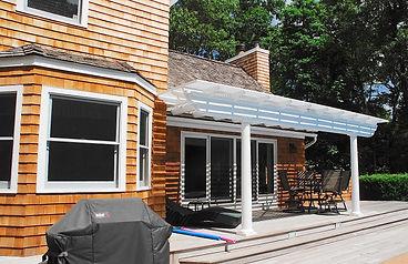 matt projects  - house siding back of ho