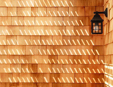 matt project- wall sidding and lamp deta