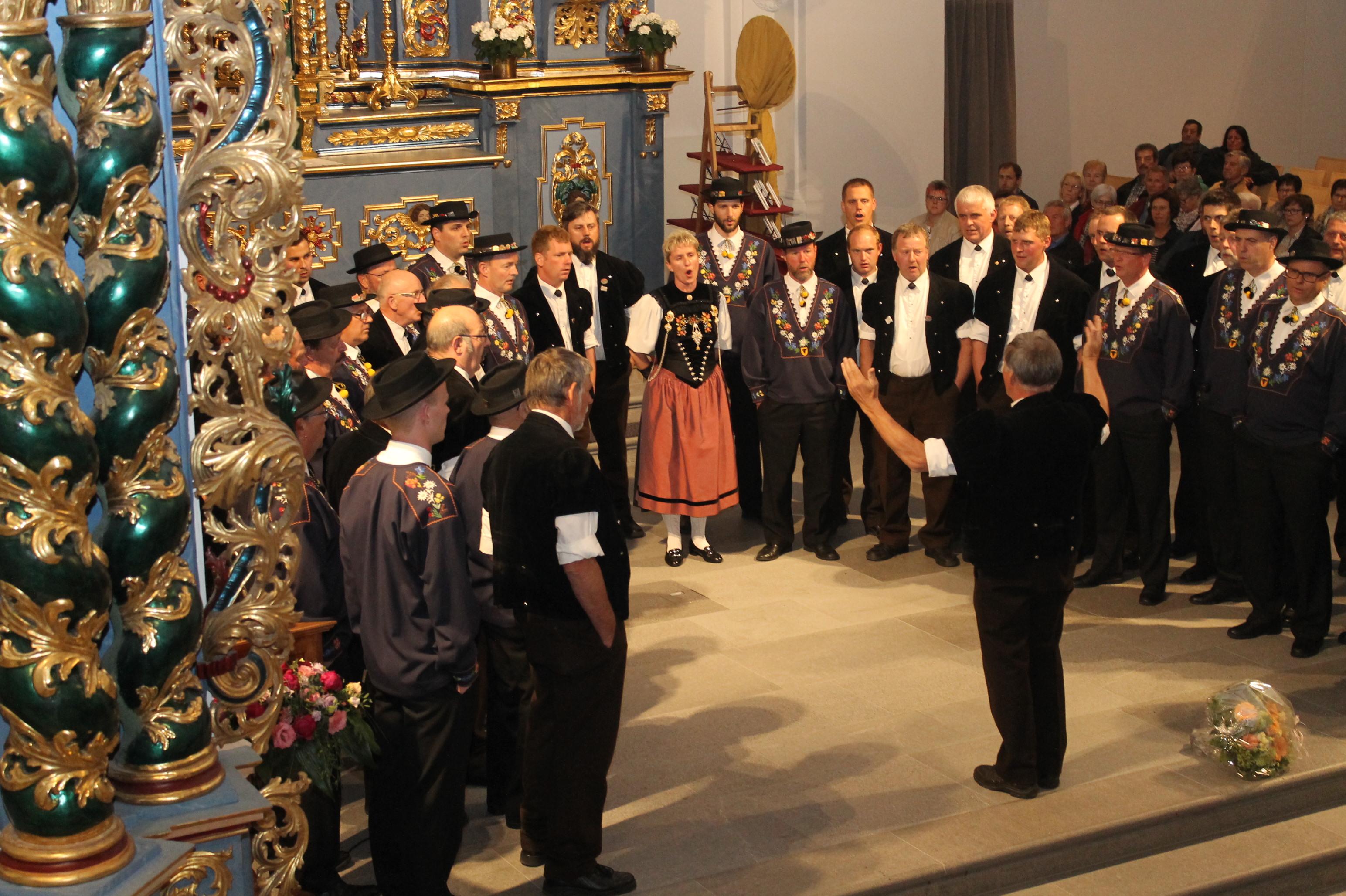 Jubiläumskonzert Bärgblemli Schattdorf 13. Mai  (27)