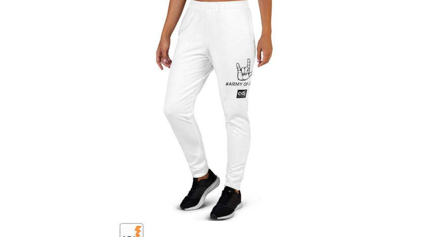 You pick color! Army of Love Joggers