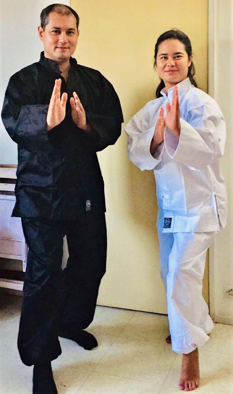 Qi Gong, grande Ours, Yin Yang