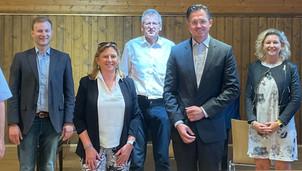 Neuwahl der Spitze der VP-Ortspartei Klosterneuburg Stadt – StRin Eder einstimmig bestätigt!