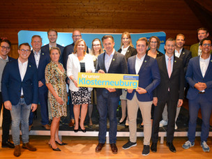 Volkspartei Klosterneuburg wählte Vorstand