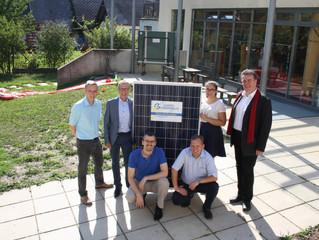 Die 13. Photovoltaikanlage ist in Betrieb