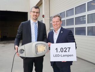 Klosterneuburg erstrahlt mit 1027 LED-Lampen in neuem Licht