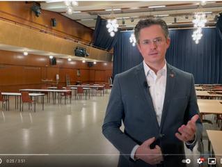 Videobotschaft Bürgermeister Stefan Schmuckenschlager zu den 2. Massentests in Klosterneuburg