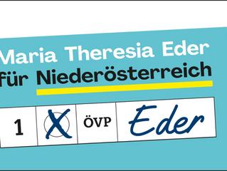 Dr. Maria T. Eder - Vorzugsstimme EU-Wahl 26. Mai 2019