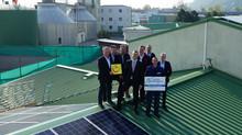 Stetiger Ausbau kommunaler Photovoltaik: 17. Anlage in Betrieb