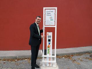 Weiterer Ausbau der E-Mobilität mit neuer E-Tankstelle