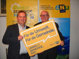 Umweltgemeinderäte Niederösterreichs blicken nach Klosterneuburg