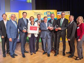 """Ausgezeichnet mit 4 """"e"""": Dank Energie- & Klimaschutz steigt Klosterneuburg in die """"Champions Lea"""