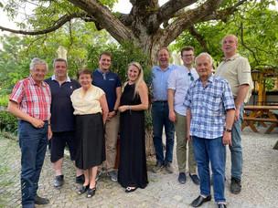 Vorstand der Ortspartei Weidling neu gewählt