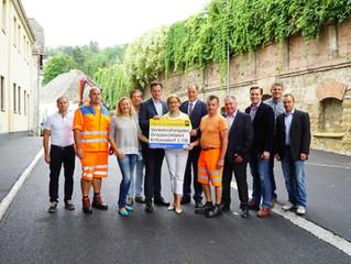 Freie Fahrt auf der Hauptstraße in Kritzendorf: Zwei Wochen früher als geplant!