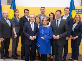 Stadträtin Maria-Theresia Eder als Nummer 2 von NÖ bei EU-Wahl