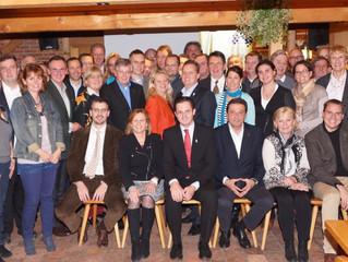 Breit aufgestellt: Kandidatenteam der Volkspartei Klosterneuburg