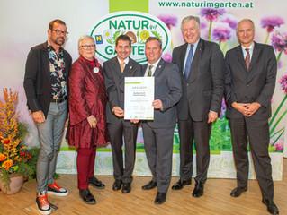 Auszeichnung für Stadt: European Awards for ecological gardening