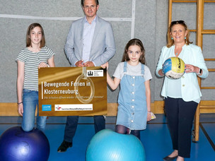 Mehr Bewegung – Klosterneuburg öffnet in den Sommerferien die Turnsäle der Schulen für Vereine
