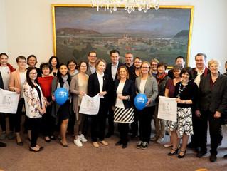 Klosterneuburg erneut auf bestem Weg zur familienfreundlichen Gemeinde
