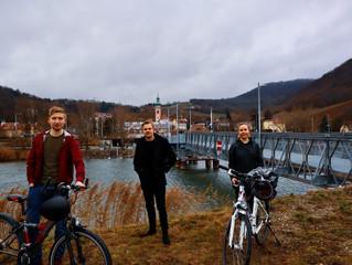 JVP Klosterneuburg fordert Verbesserungen für neue Radstrecke in der Kuchelau