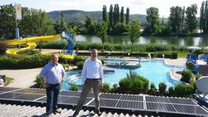 größte PV-Anlage Klosterneuburgs in Betrieb