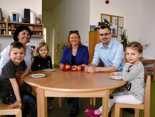 Buffettag spart in Kindergärten wertvolle Lebensmittel & bares Geld