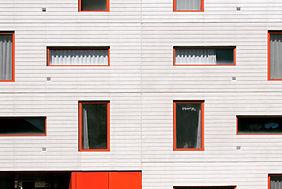 Red Frame Windows