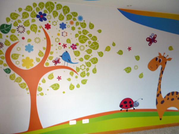 Stikers para paredes de niños
