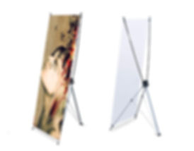 Arañas, roll ups, trípode, backing y stands, mesas de promoción, counters, skyline, exhibición de marca, articulos para eventos