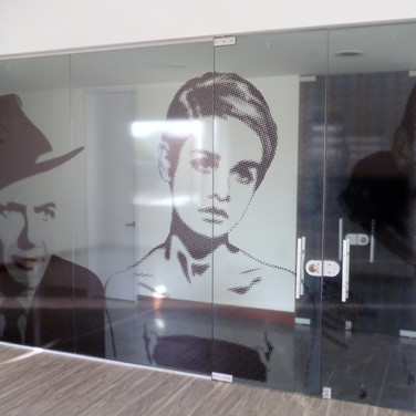 Diseño para vidrios