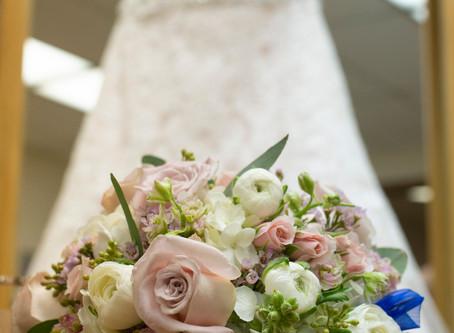 Snowy Saginaw Wedding