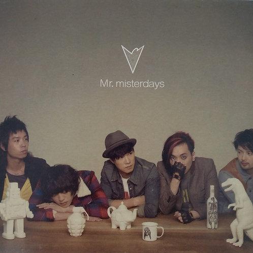 Mr. - Mr. misterdays (CD+DVD)