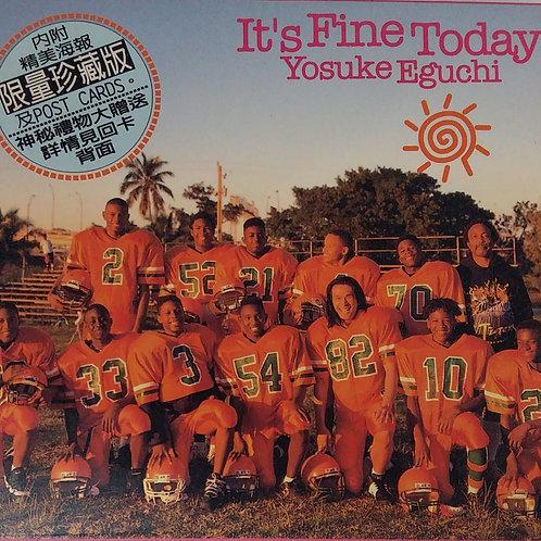 江口洋介 Yosuke Eguchi - It's Fine Today (台版)
