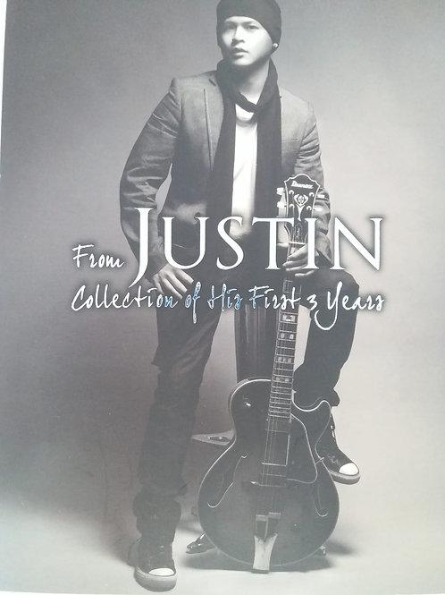 側田 - From Justin Collection of His First 3 Years (2 CD +DVD)