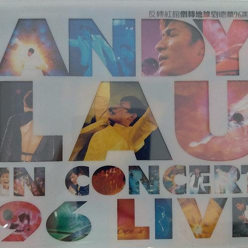 劉德華 - 反轉紅館倒轉地球劉德華96演唱會 Andy Lau In Concert 96 Live (2 CD)