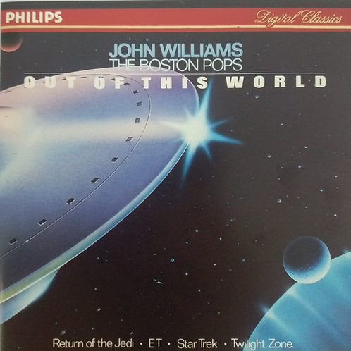 John Williams & The Boston Pops - Out Of This World(銀圈)