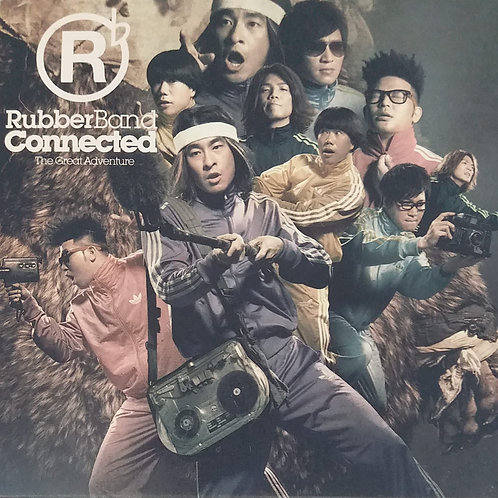 RubberBand - Connected(CD+DVD)