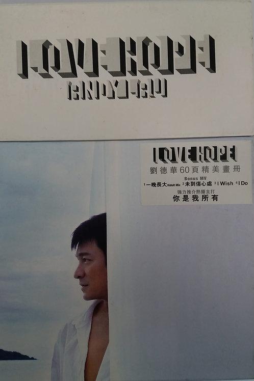 劉德華 - 希望.愛 (CD+DVD/DSD)