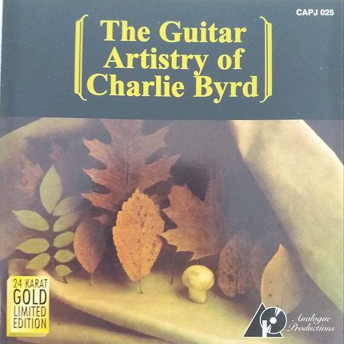 Charlie Byrd – The Guitar Artistry Of Charlie Byrd(24K金碟/限量版)