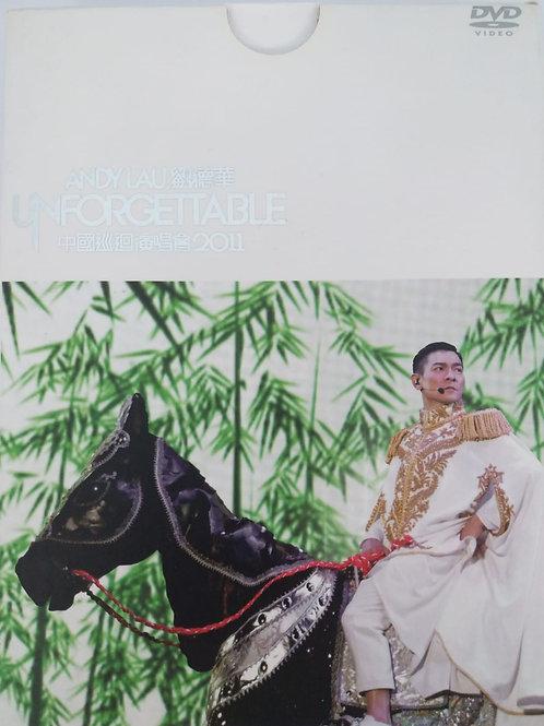 劉德華 - Unforgettable 中國巡迴演唱會2011 限量珍藏版(2 DVD + 2 CD/DSD)