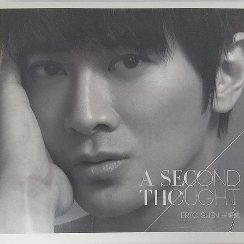 孫耀威 - A Second Thought (CD+DVD)